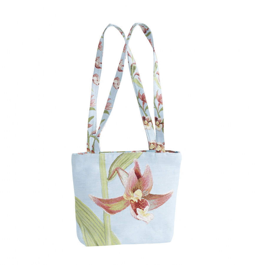 Tapestry bag Orchids