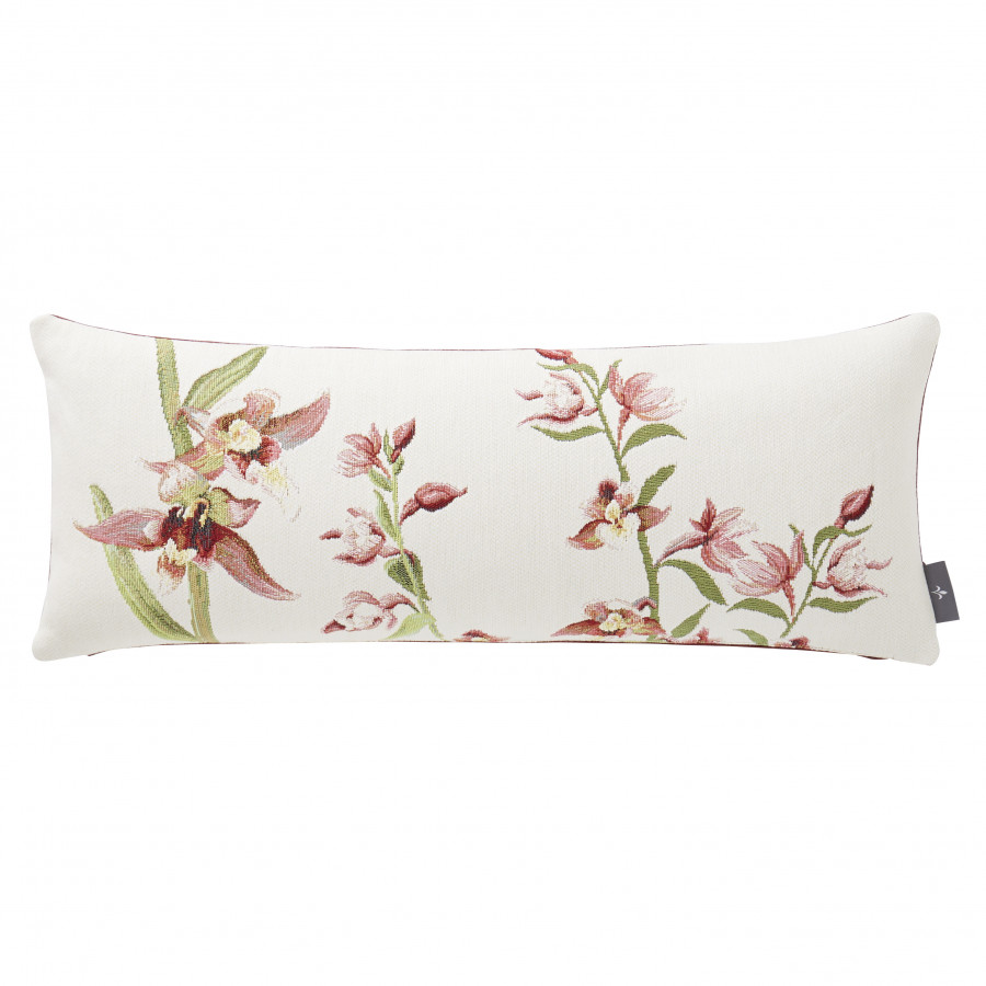 Tapestry cushion cover  Orchids