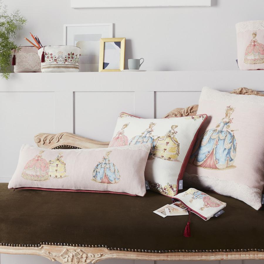Mini coussin tapisserie senteur lavande Duchesse