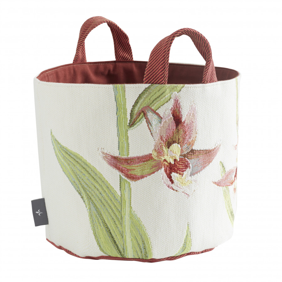 Tapestry basket Orchids