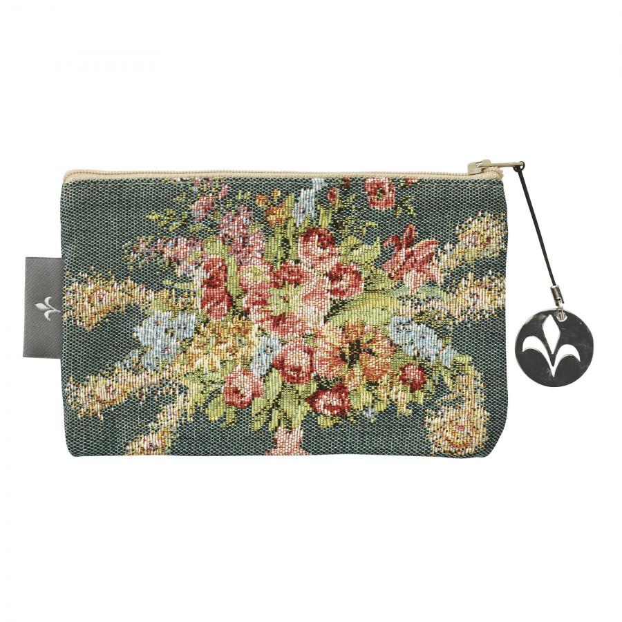 Tapestry purse Bouquet de Marie Antoinette