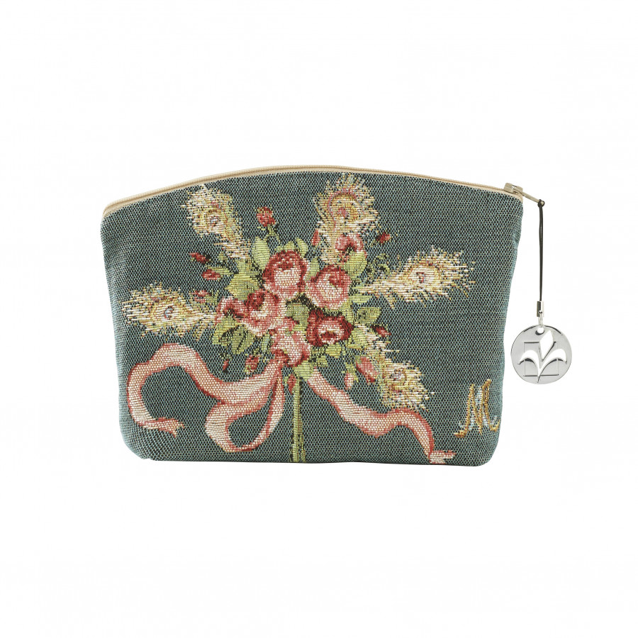 Tapestry cosmetic bag Bouquet de Marie Antoinette