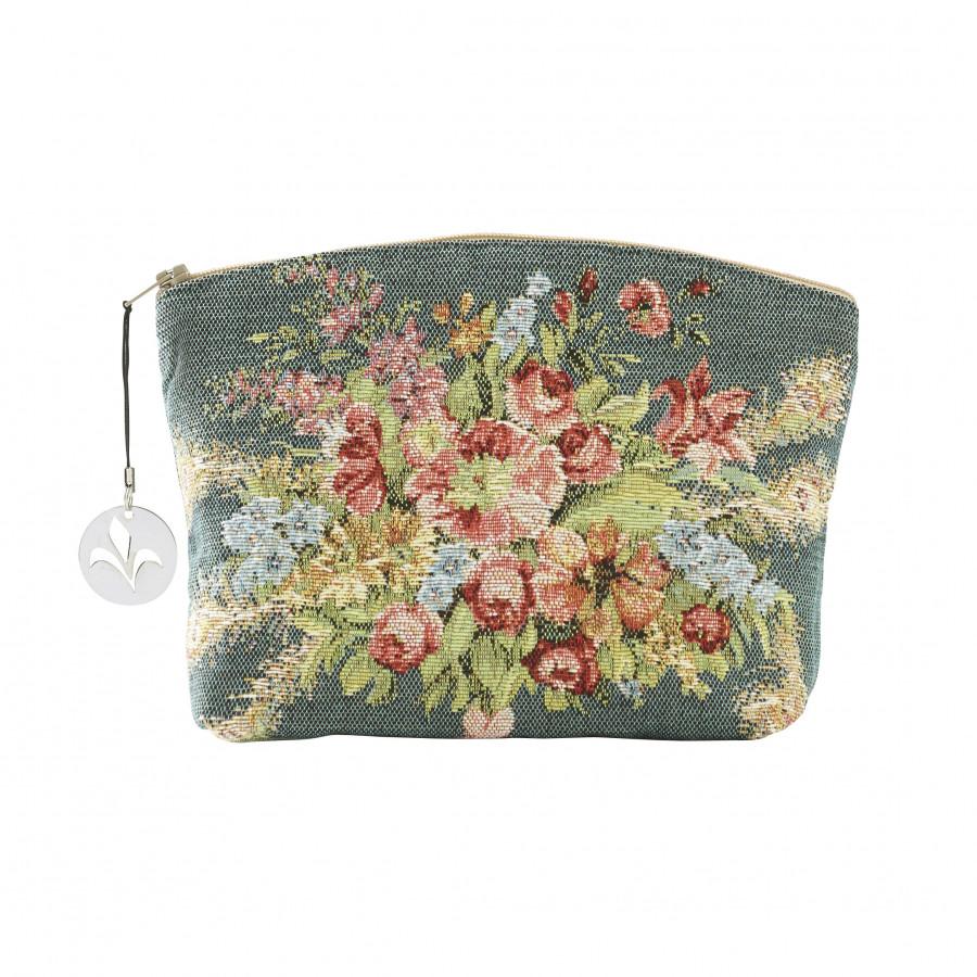Trousse tapisserie Bouquet de Marie Antoinette