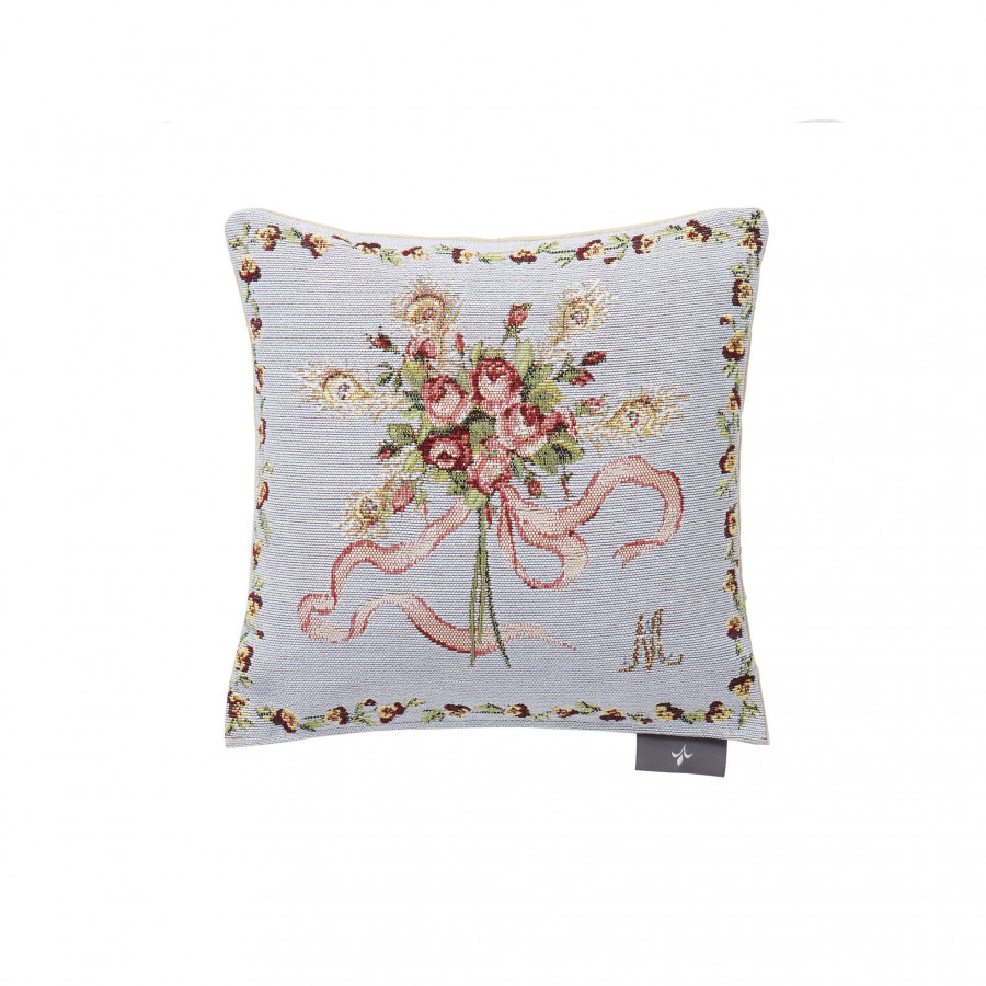 Small tapestry cushion Roses Marie Antoinette