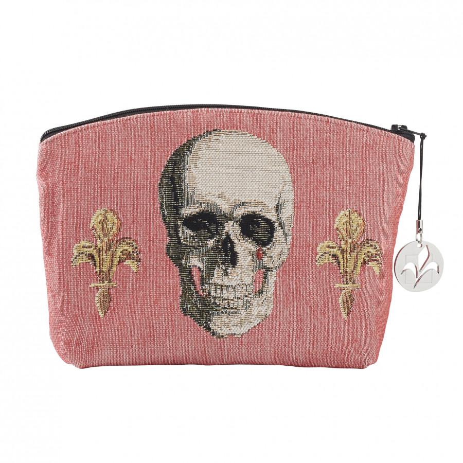 Trousse tapisserie Tête de mort Royale