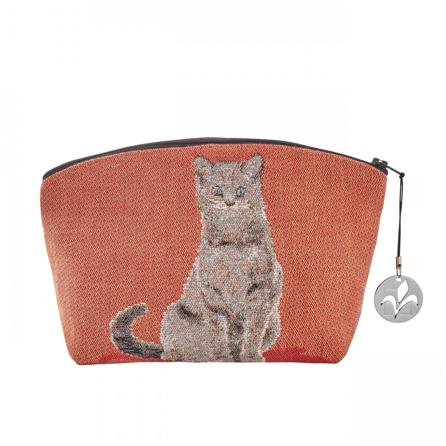 Trousse tapisserie Chat assis