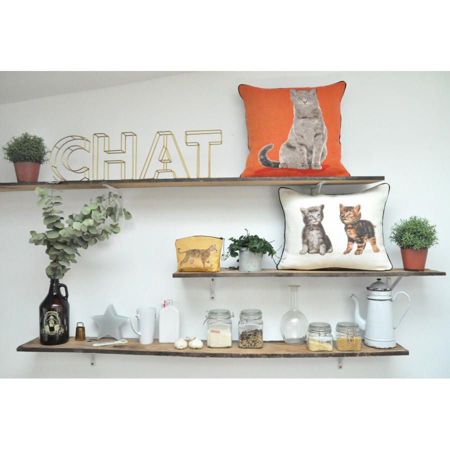 Tapestry cosmetic bag Kitten