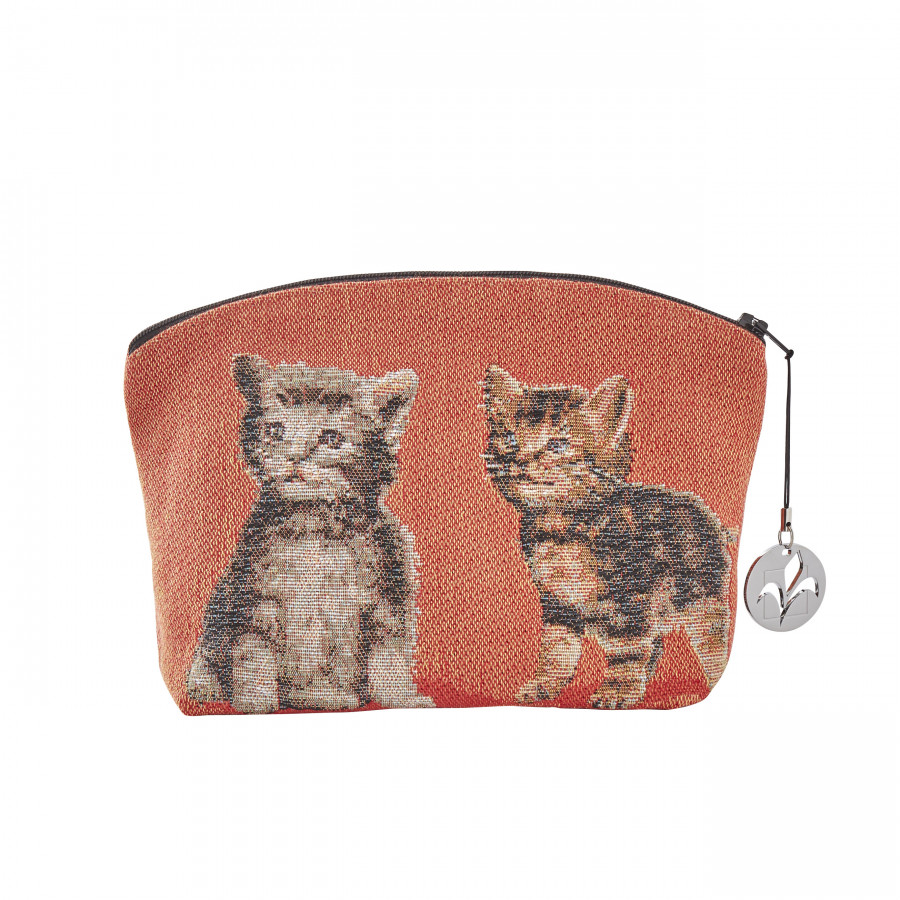Tapestry cosmetic bag Kitten
