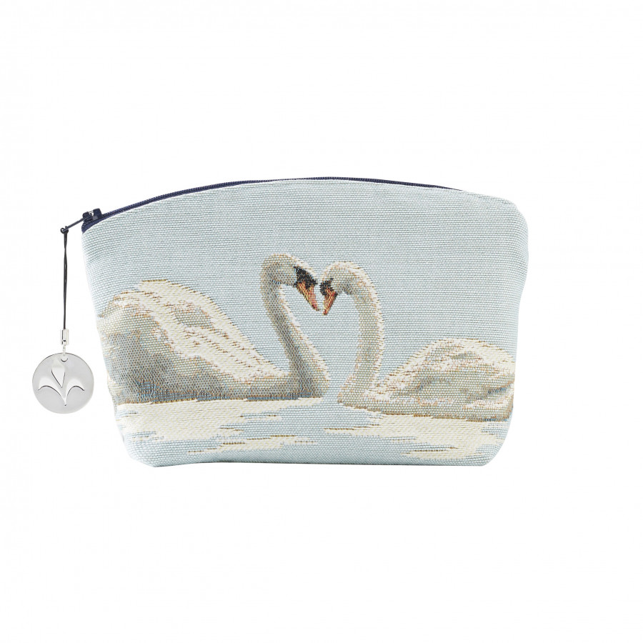 Tapestry cosmetic bag Cygne