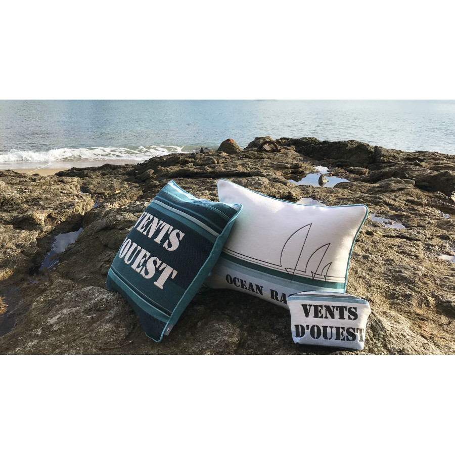 Tapestry cushion cover Ocean