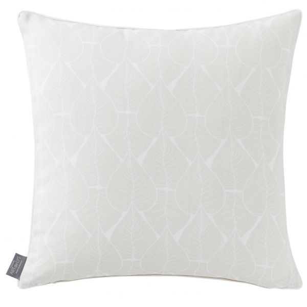 Printed cushion cover multi leaves square
