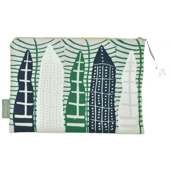 Printed purse Pirogues