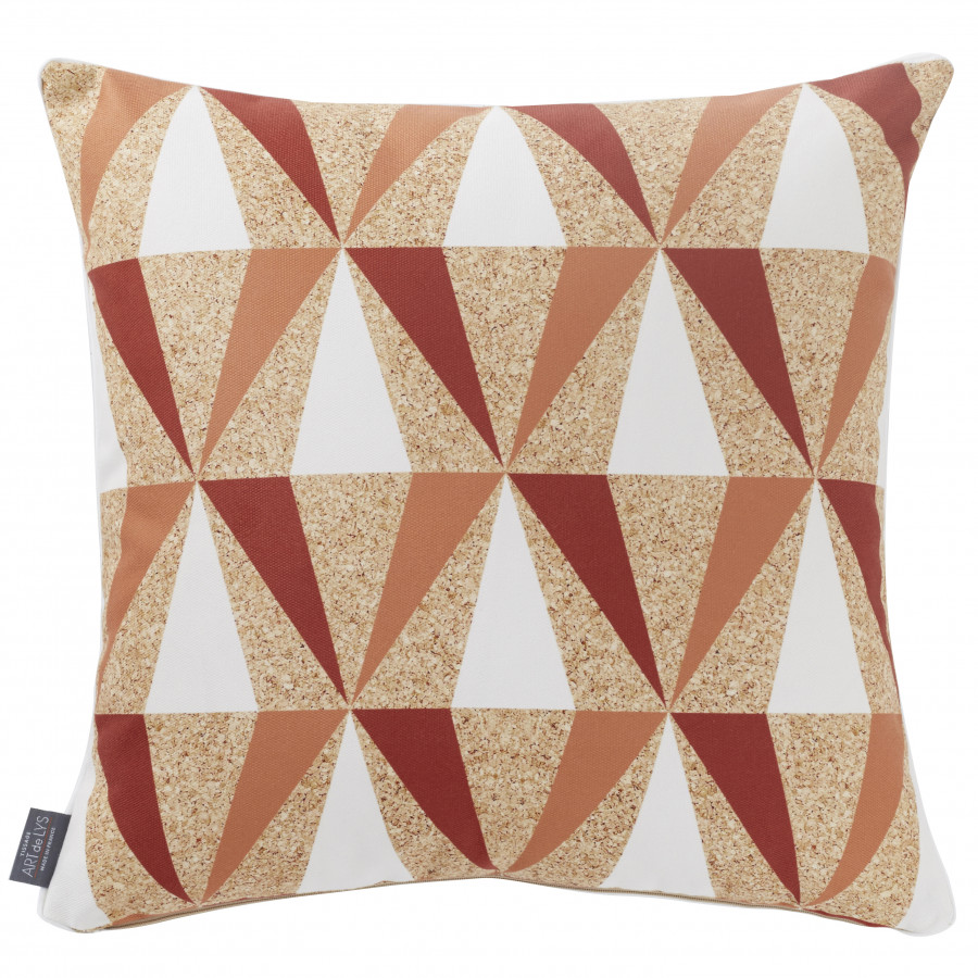 Printed cushion cover Surfers square