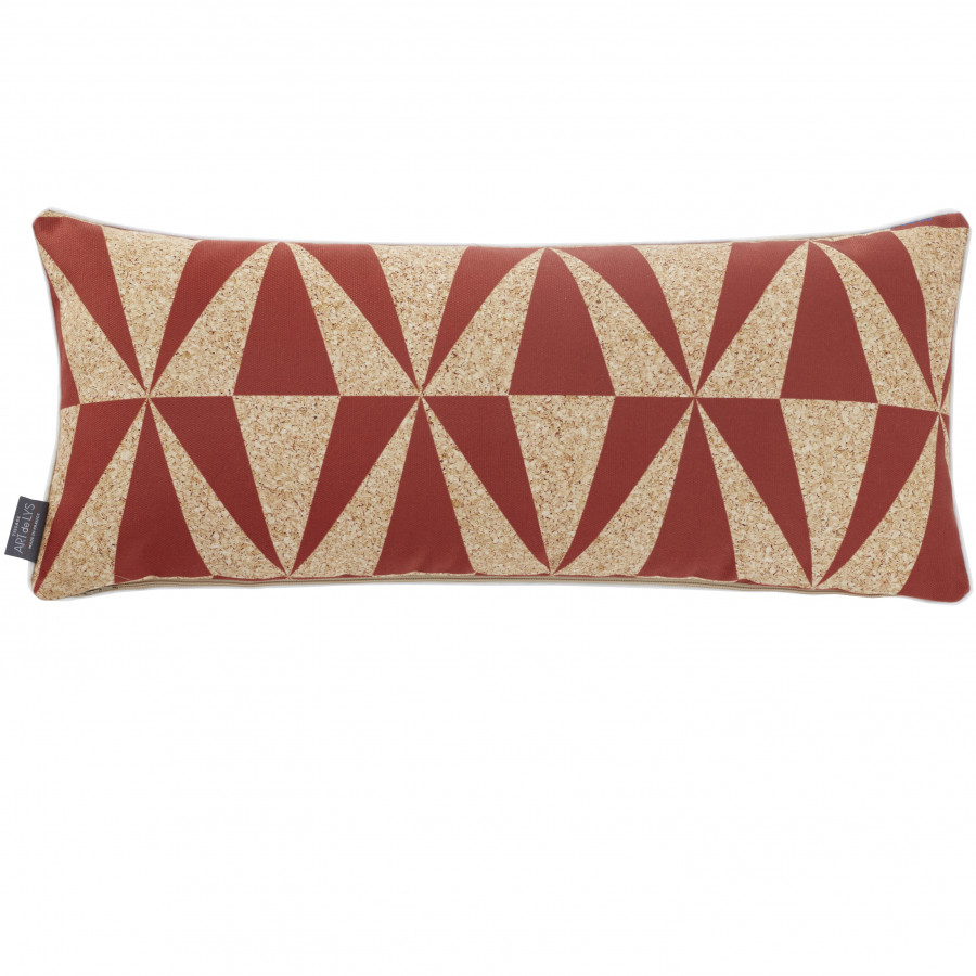 Printed wedge cushion cover Surfers