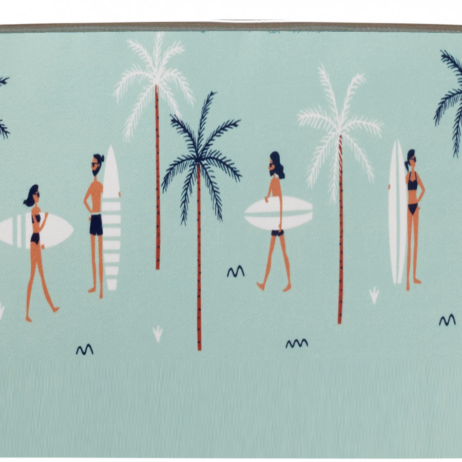 Printed purse Surfers