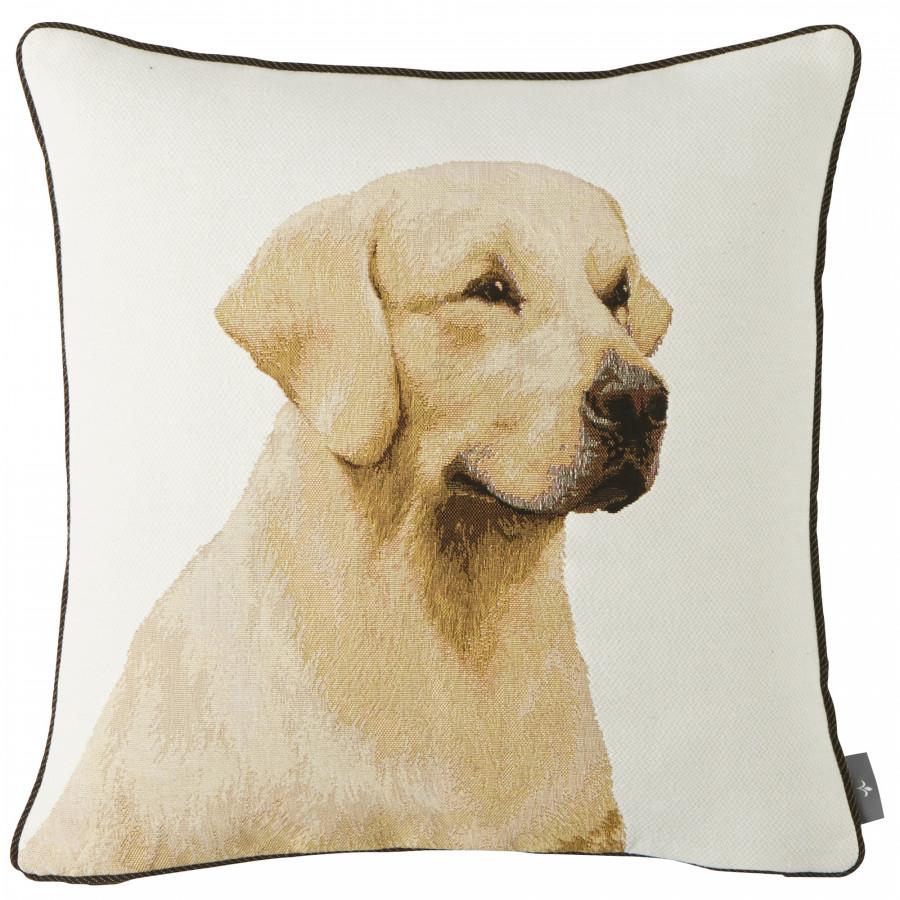 Housse de coussin tapisserie Labrador
