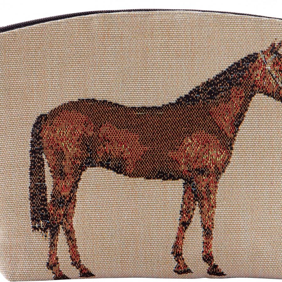 Trousse tapisserie Chevaux