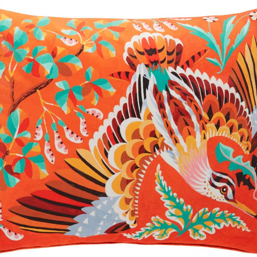 Printed cushion cover Woddcock