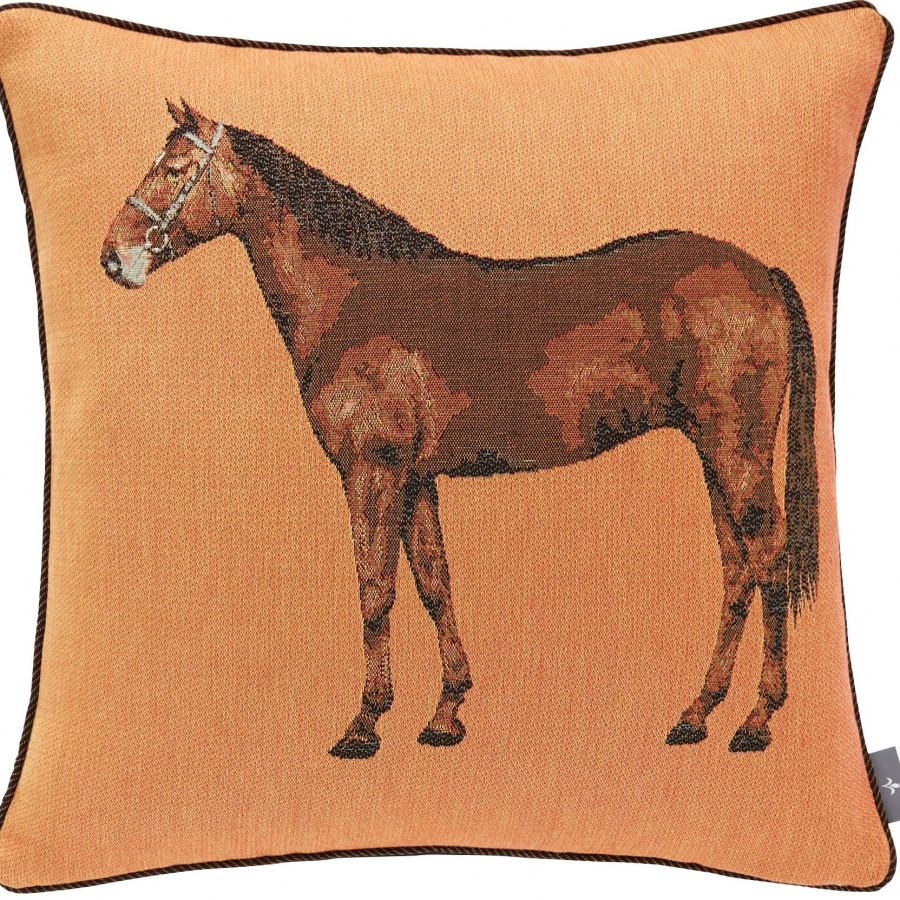 Tapestry cushion cover Horse