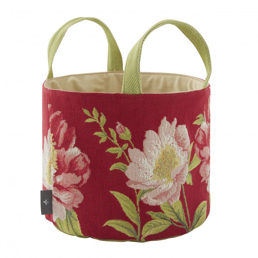 Tapestry basket Peonis