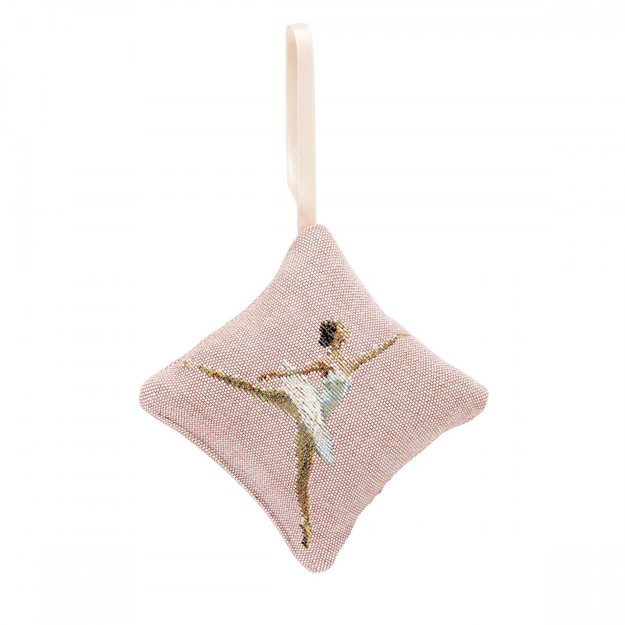 Scented tapestry mini cushion Dance