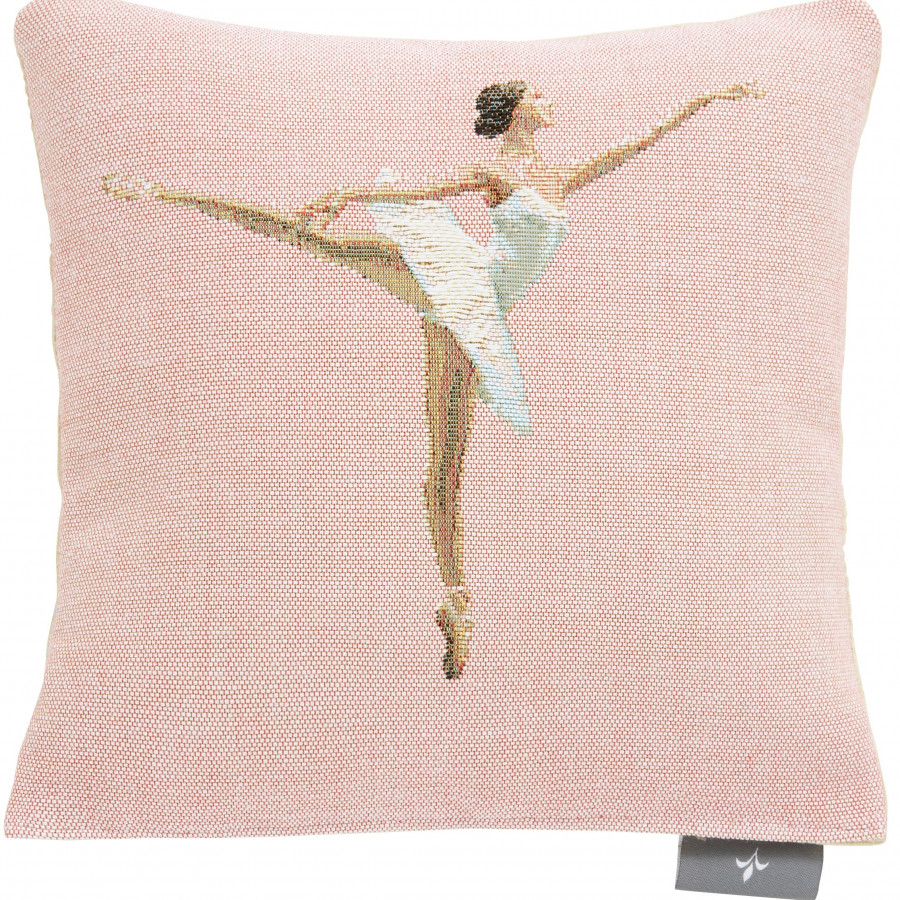 Small tapestry cushion dancer pointe