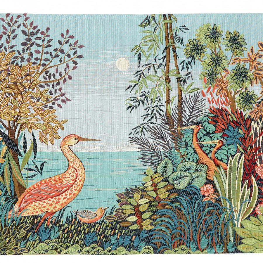 Tapestry Landscape Heron