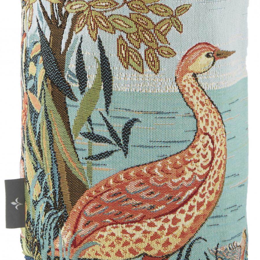 Petit panier tapisserie Oiseaux en Forêt