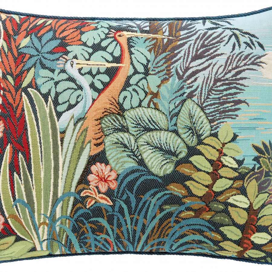 Tapestry cushion cover Couple Birds in a Forest