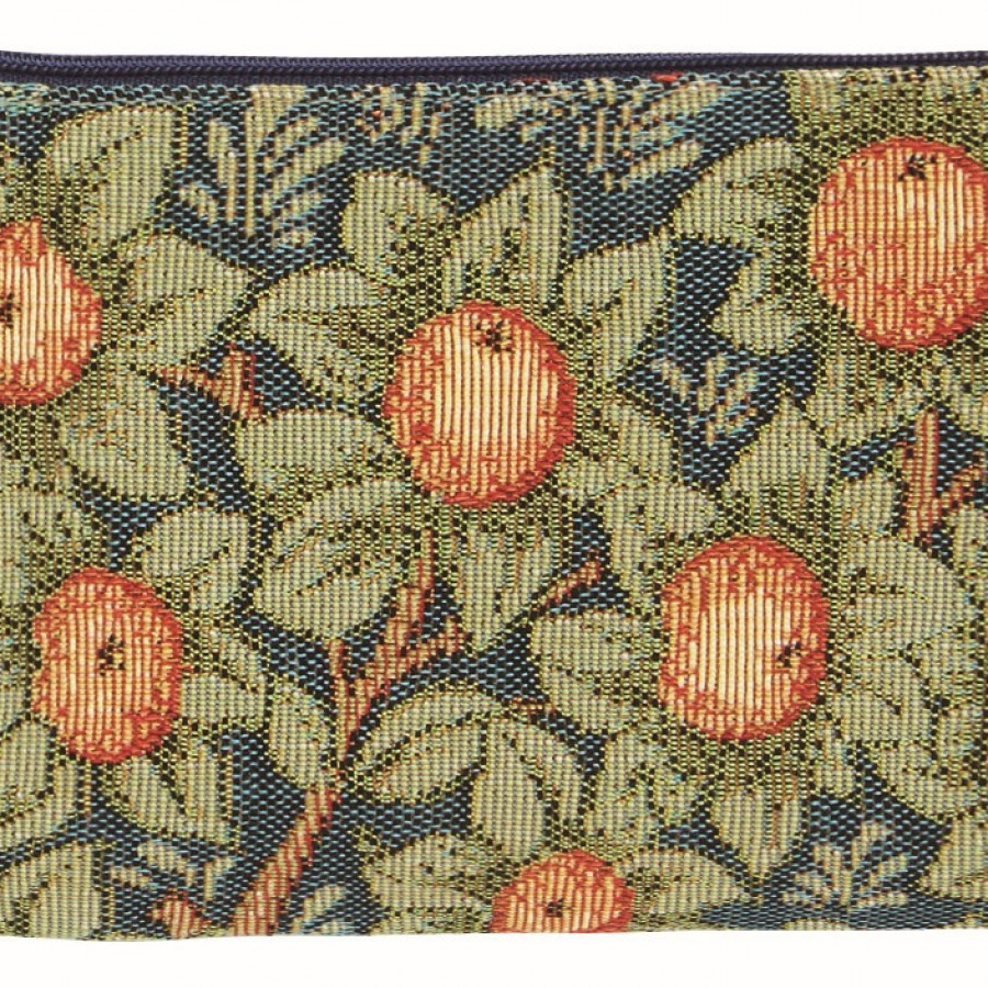 Tapestry purse orange