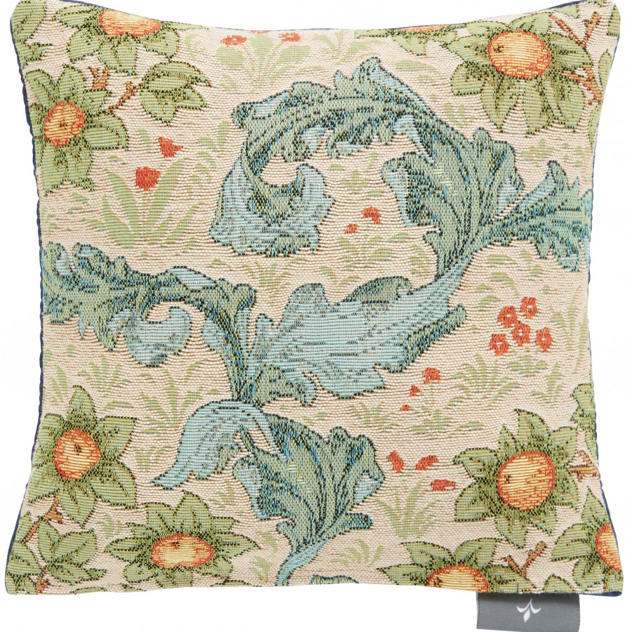 Small tapestry cushion orange