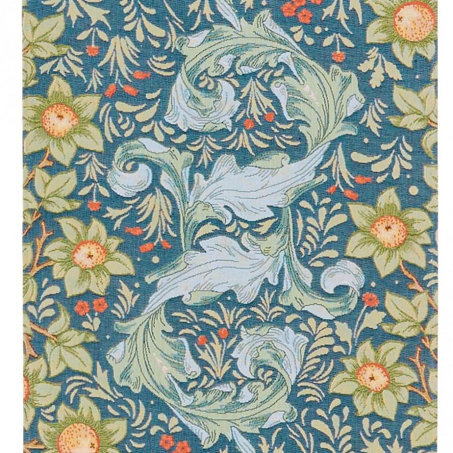 Tapestry runner multi orange