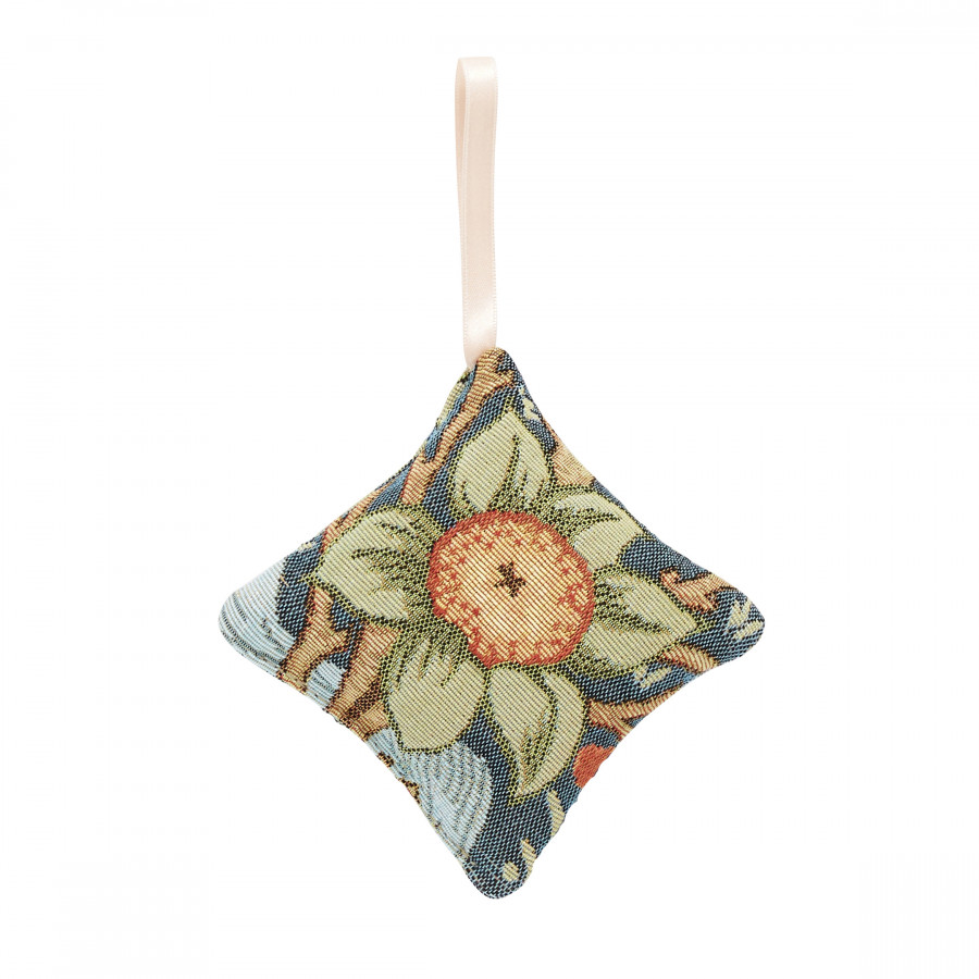 Scented tapestry mini cushion Orange