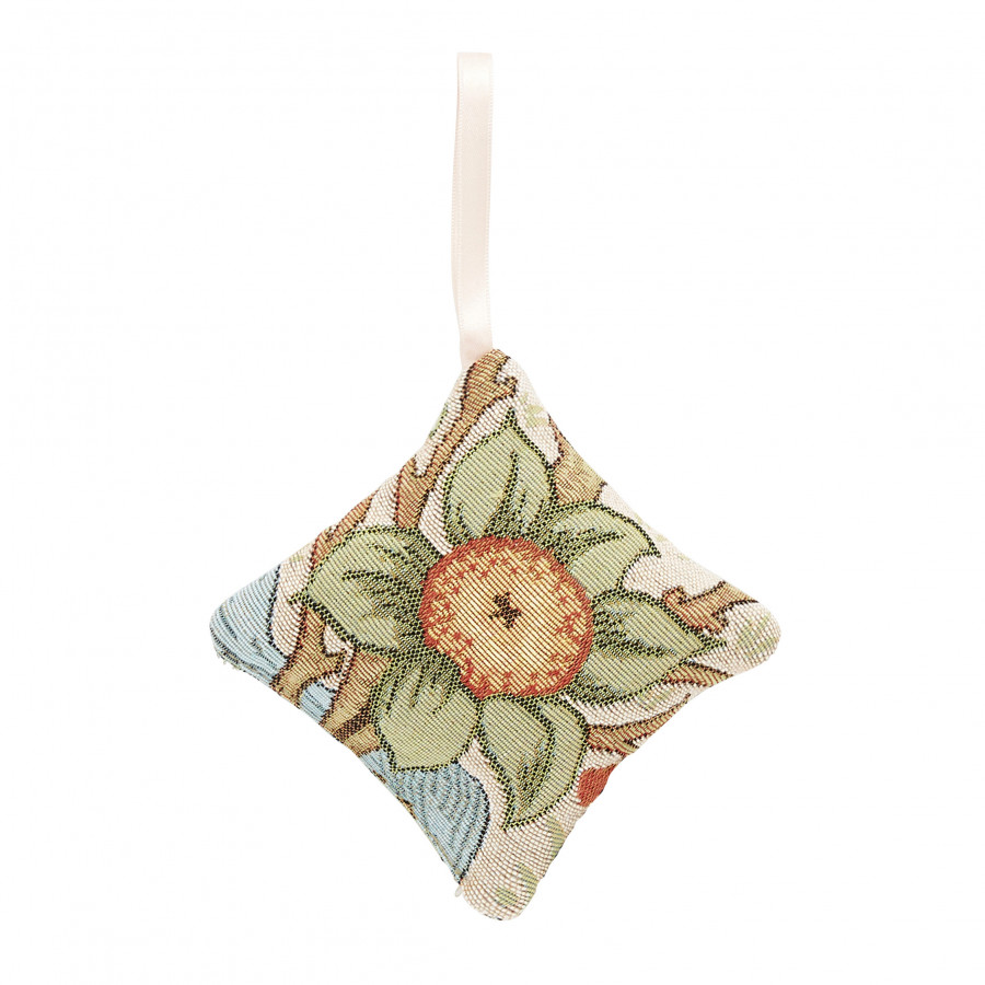 Scented tapestry mini cushion Orange