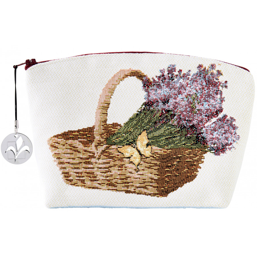 5775 : Cosmetic bag Lavender field, dark background