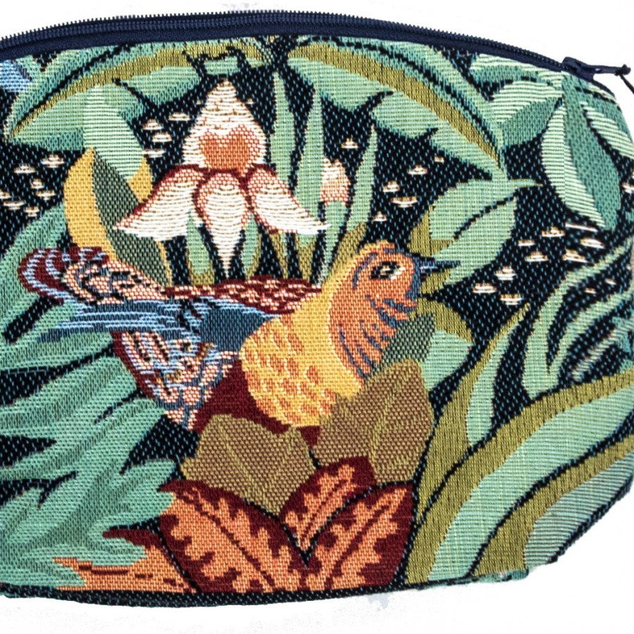 5742 : Cosmetic bag Jungle and birds