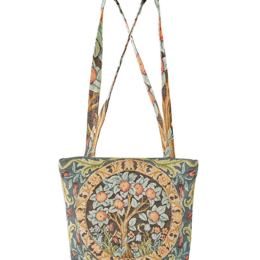 Tapestry bag Orange Tree