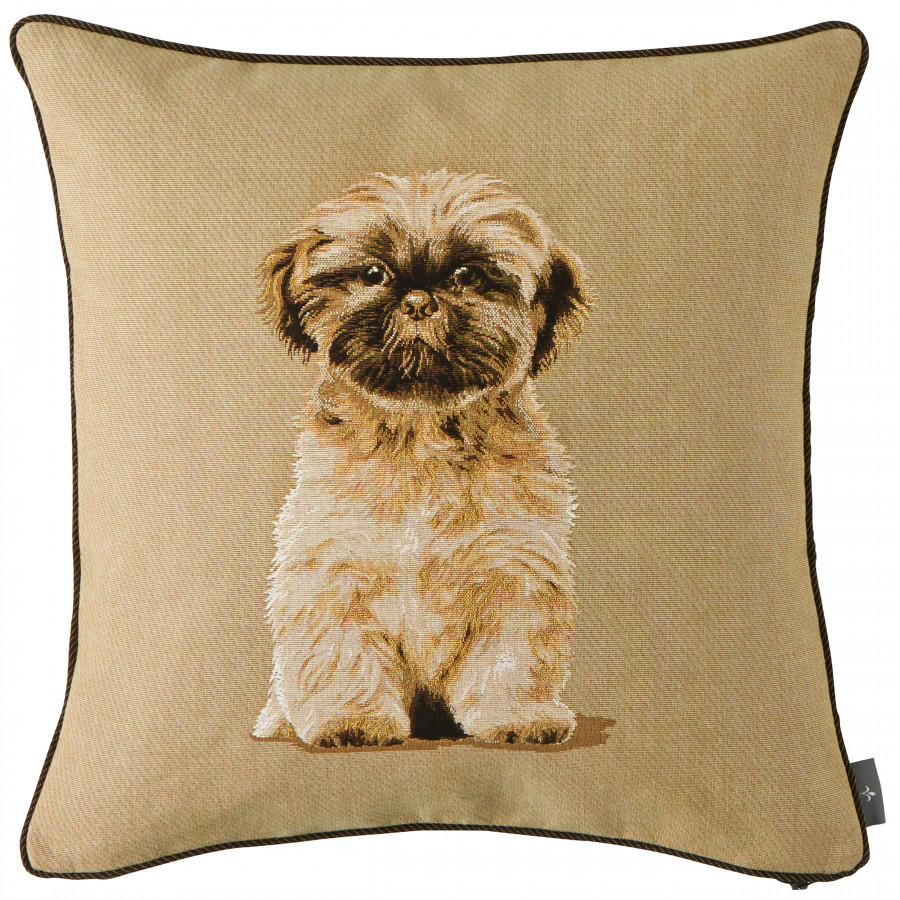 Cushion cover Shih tzu,.