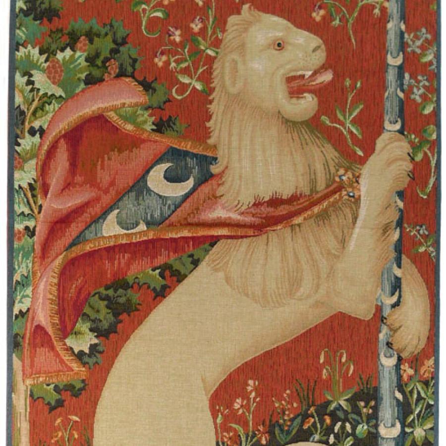 8225 : Portière lion