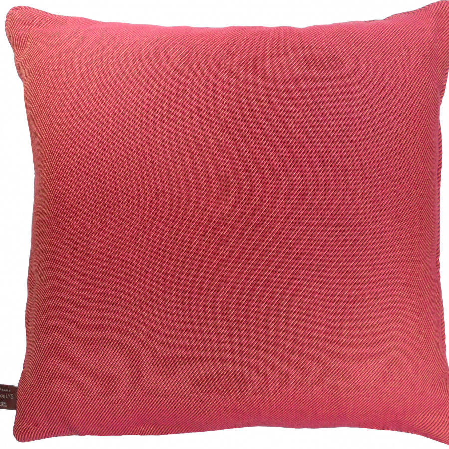Cushion cover Licorne captive red
