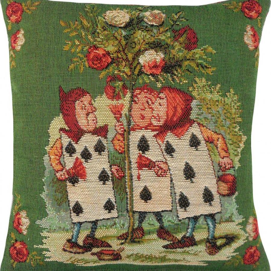 8714V : The Gardeners, Alice in Wonderland green background