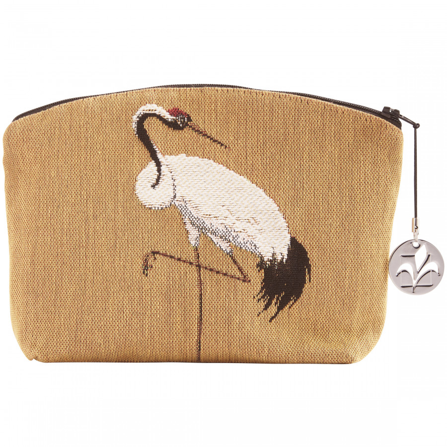 Trousse tapisserie Grues blanches