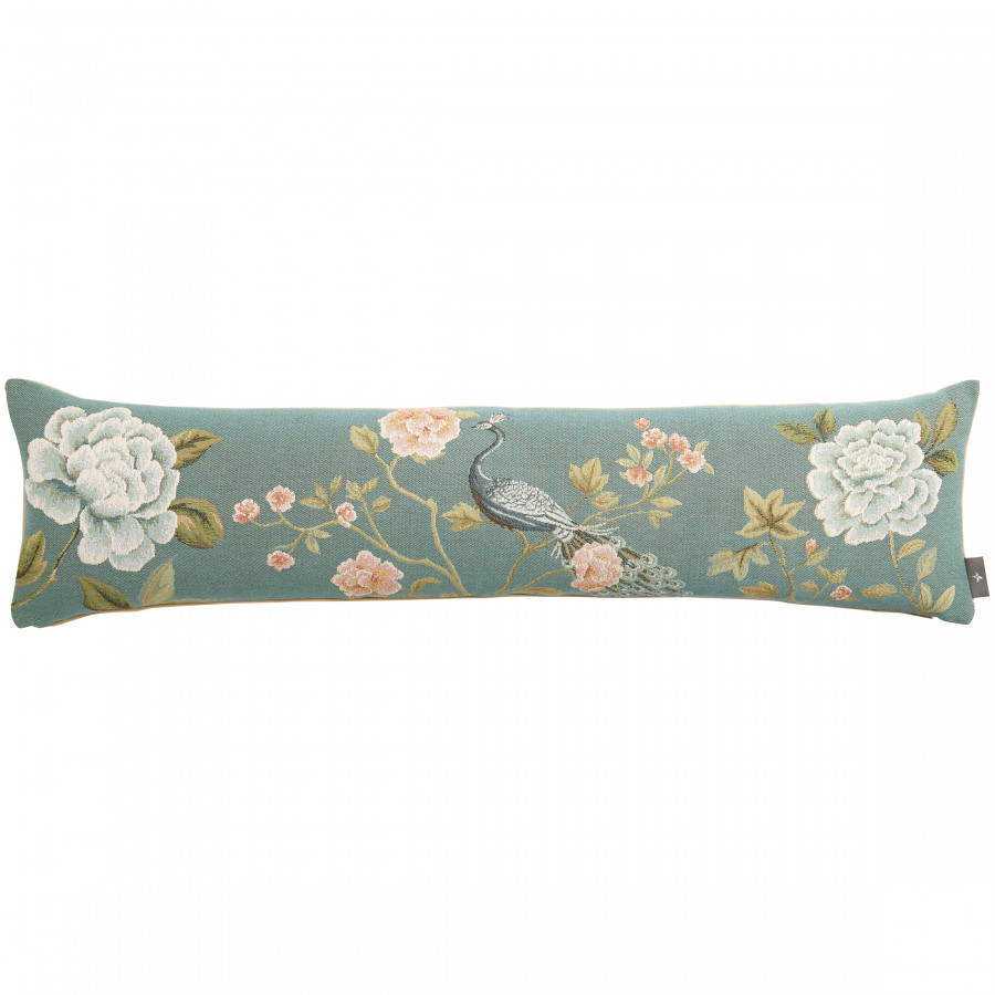 Tapestry cushion cover Pomegranate and Peacock