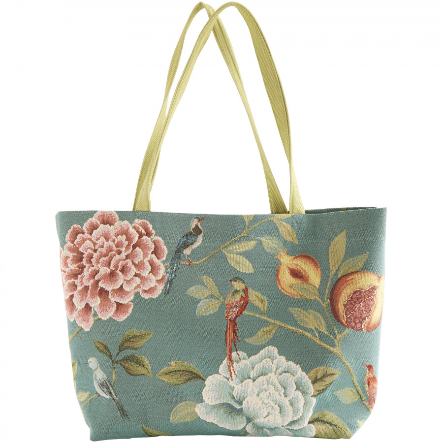 Tapestry big bag Pomegranate and birds