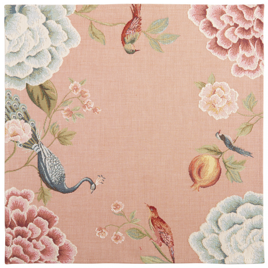 Table's center tapestry Pomegranate and birds