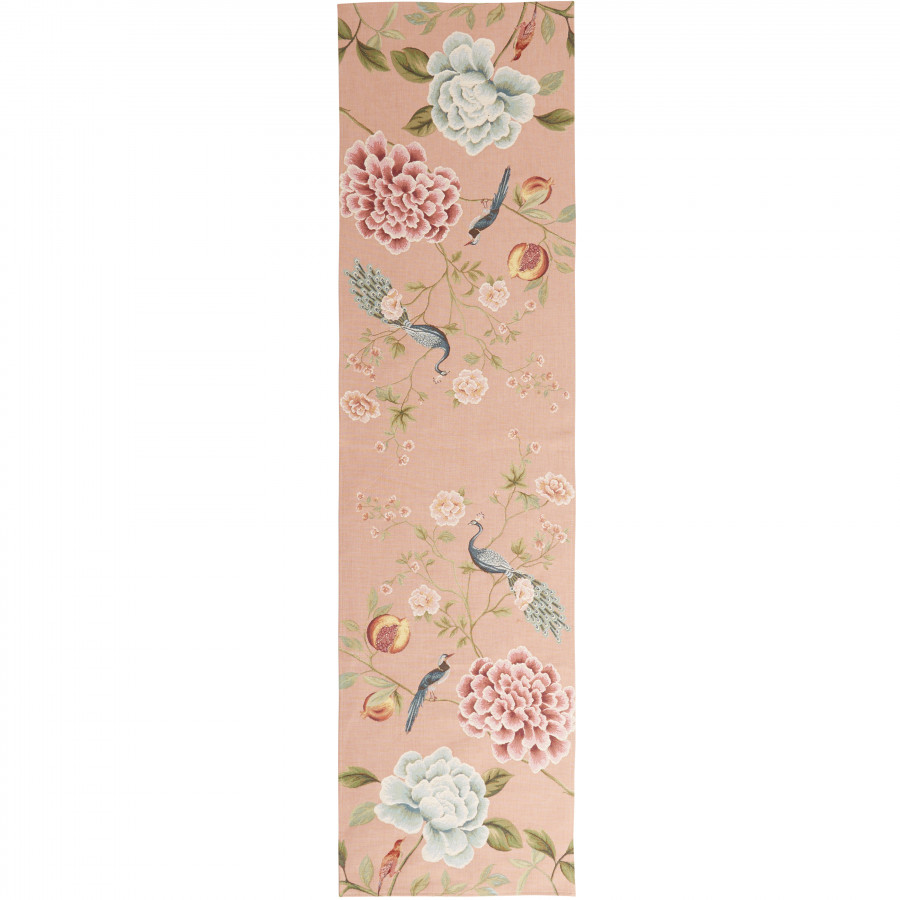 Tapestry runner Pomegranate and birds