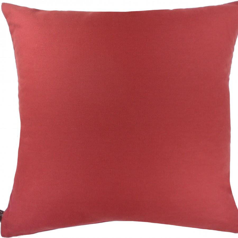 Housse de coussin tapisserie Grenadier oiseaux rouge