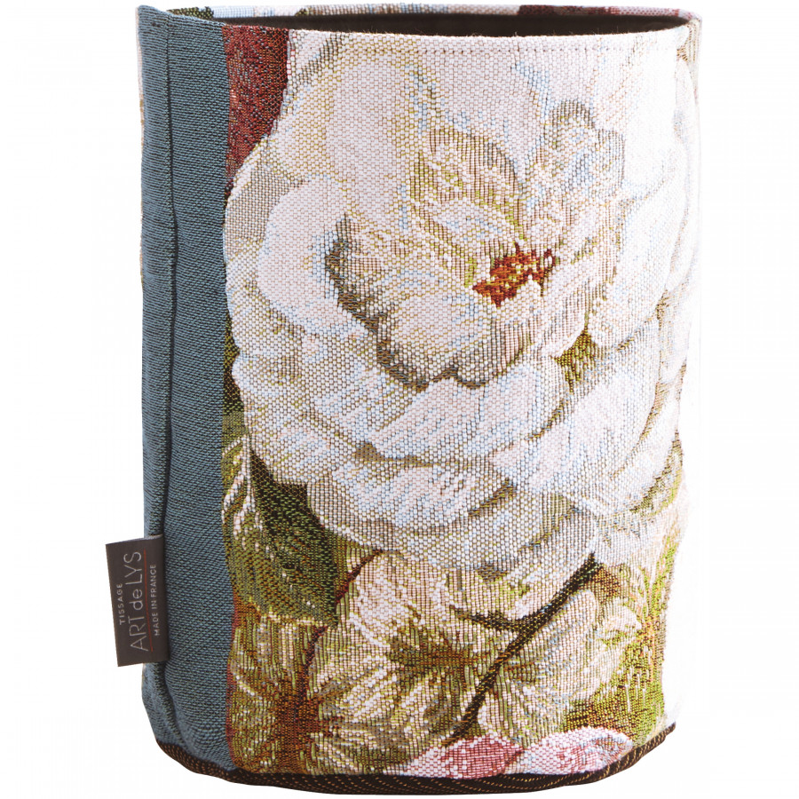 Small tapestry basket Classical bouquet