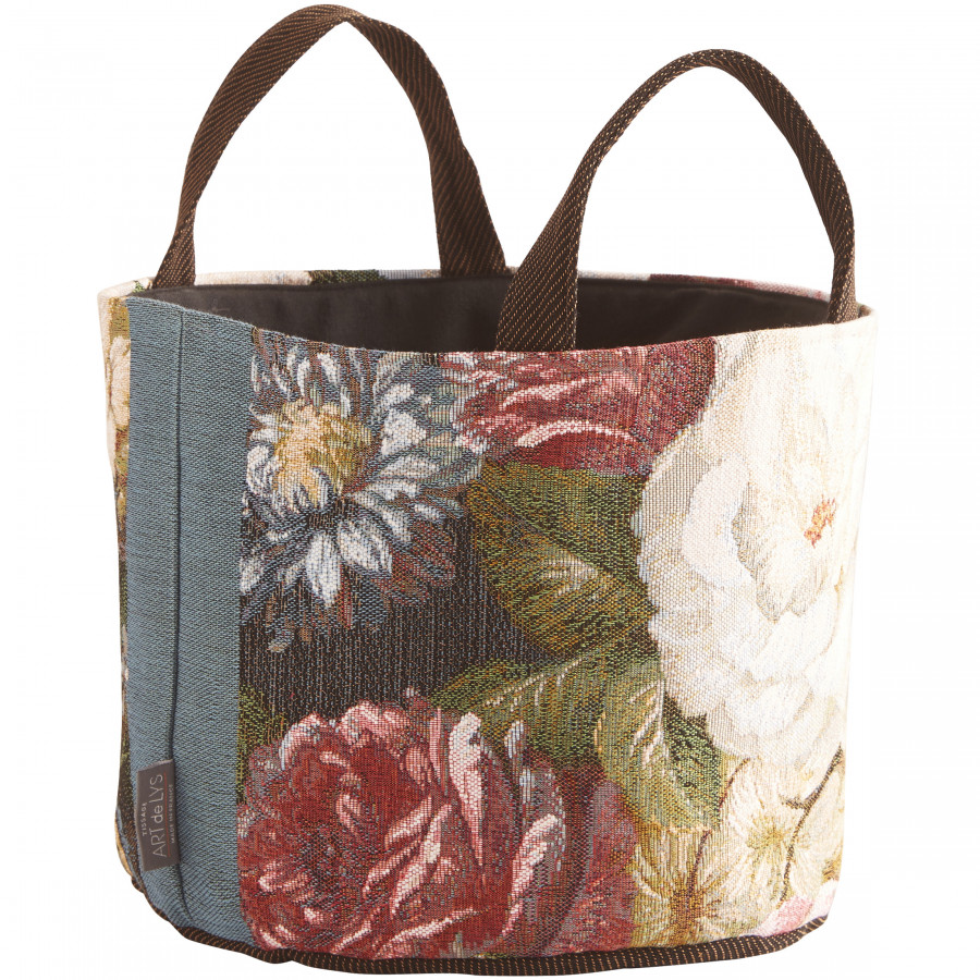 Tapestry basket Classical bouquet