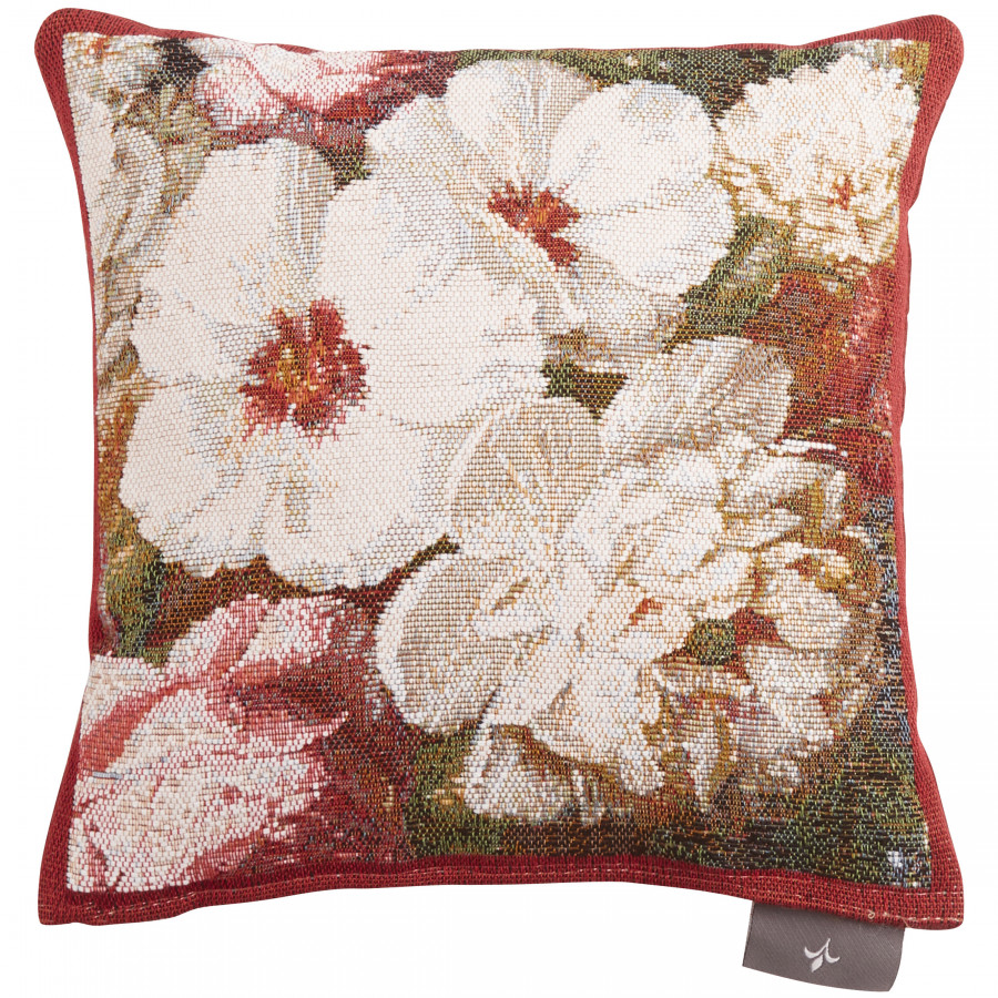 Cushion cover Small tapestry Hibiscus peony